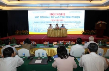 Ninh Thuan calls for investment.