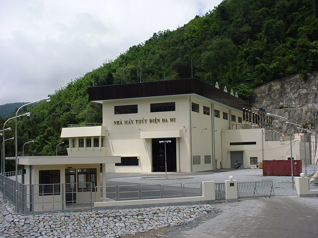 Dami Ham Thuan hydropower project.