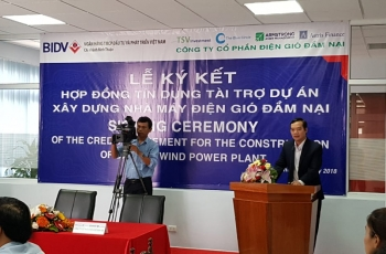 Mr Dien said at the signing ceremony with BIDV on providing credit for Dam Nai