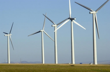 Investors appreciation wind power